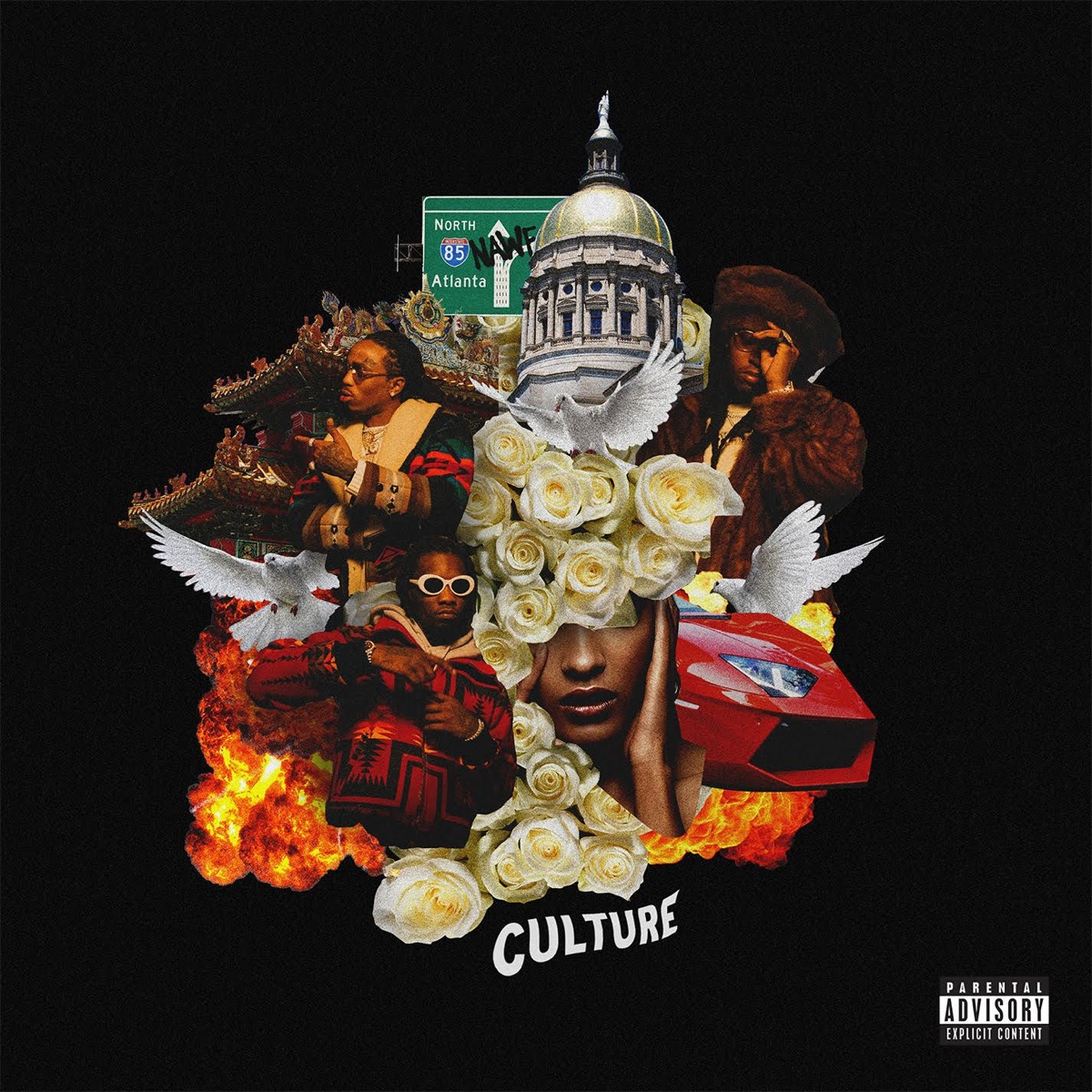 Culture Migos CD cover