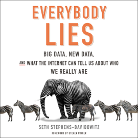 Everybody Lies: Big Data, New Data, and What the Internet Can Tell Us About Who We Really Are (Unabridged) audiobook