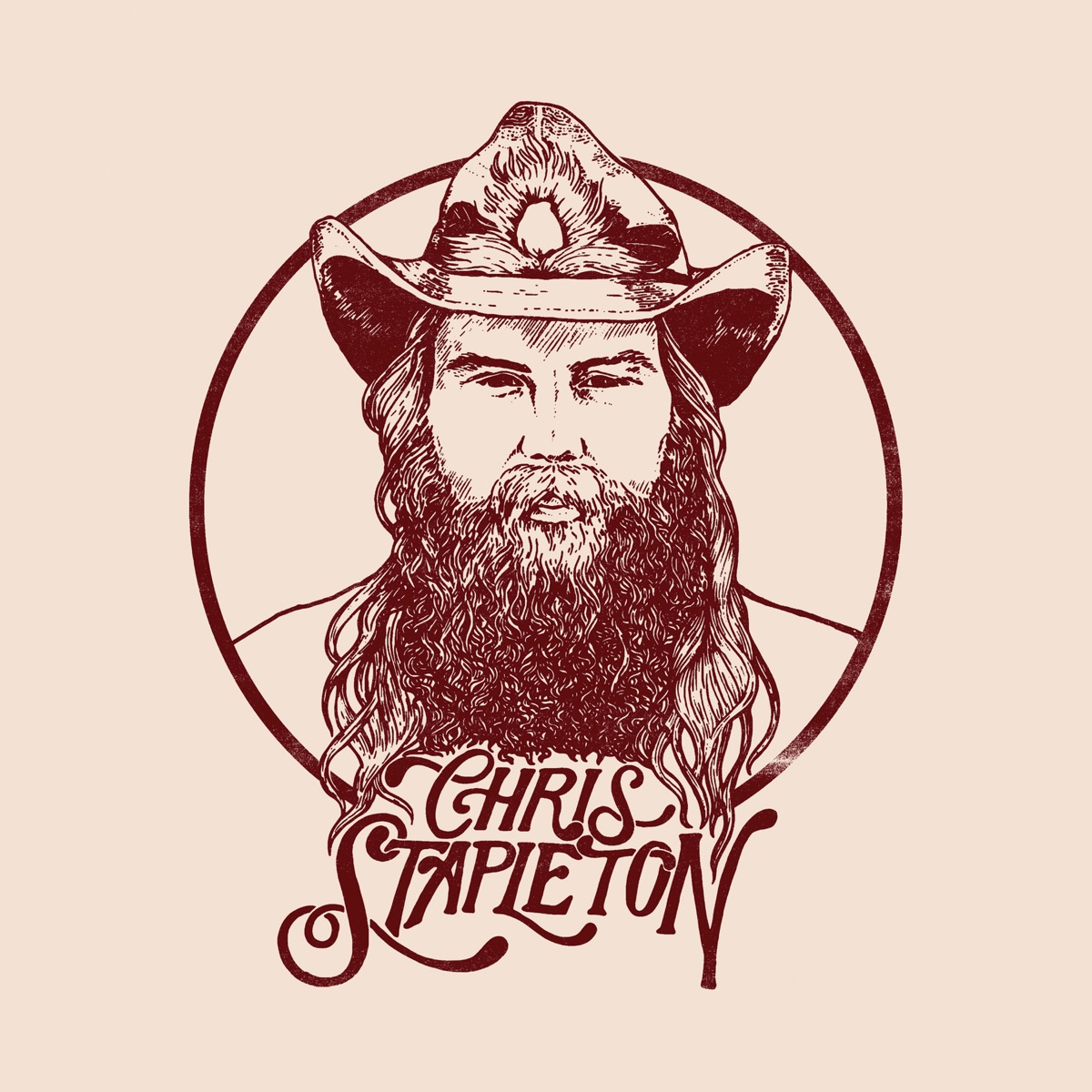 From a Room Vol 1 Chris Stapleton CD cover