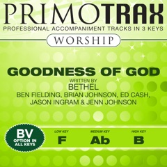 Goodness of God (Worship Primotrax) [Performance Tracks] - EP