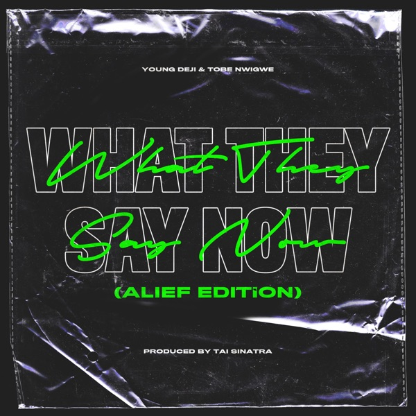 What They Say Now (Alief Edition) - Single