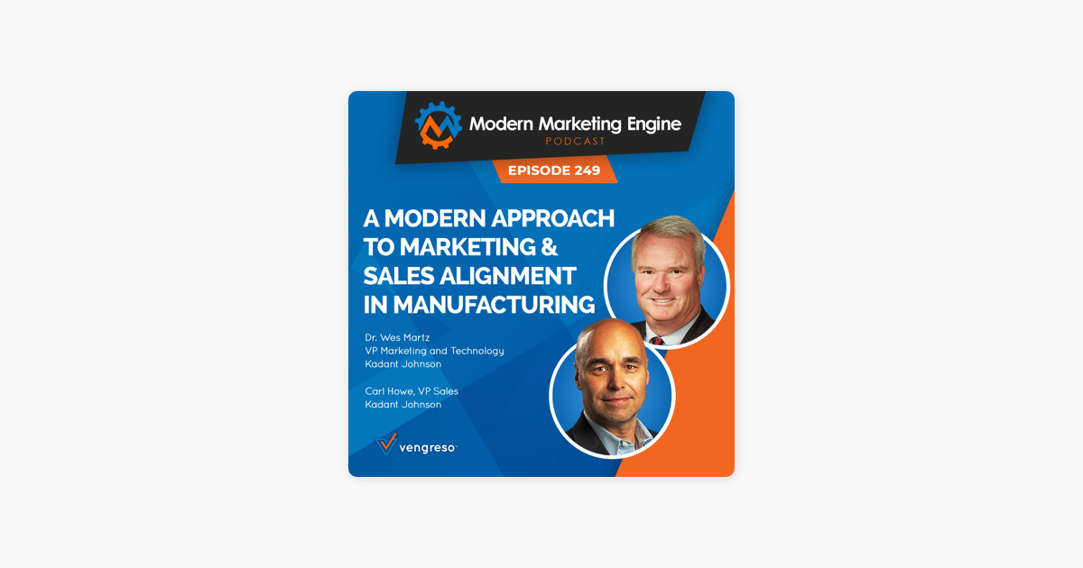 Modern Marketing Engine podcast hosted by Bernie Borges: A