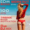 EDM Workout Music 2020 Top 100 Hits Trance Bass Motivation 8 Hr DJ Mix - Workout Electronica