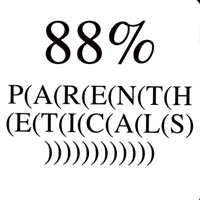Podcast cover art for 88% Parentheticals