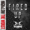 THE RAMPAGE from EXILE TRIBE - FIRED UP アートワーク