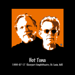 Hot Tuna - 1998-07-17 Riverport Amphitheatre, St. Louis, Mo