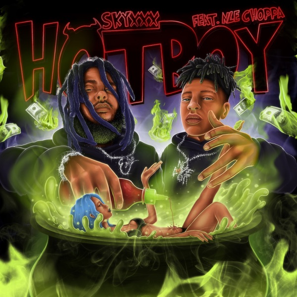 Hotboy (feat. NLE Choppa) [Remix] - Single