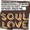 Kelvin Sylvester, Lee Wilson - Everything She Wants - EP artwork