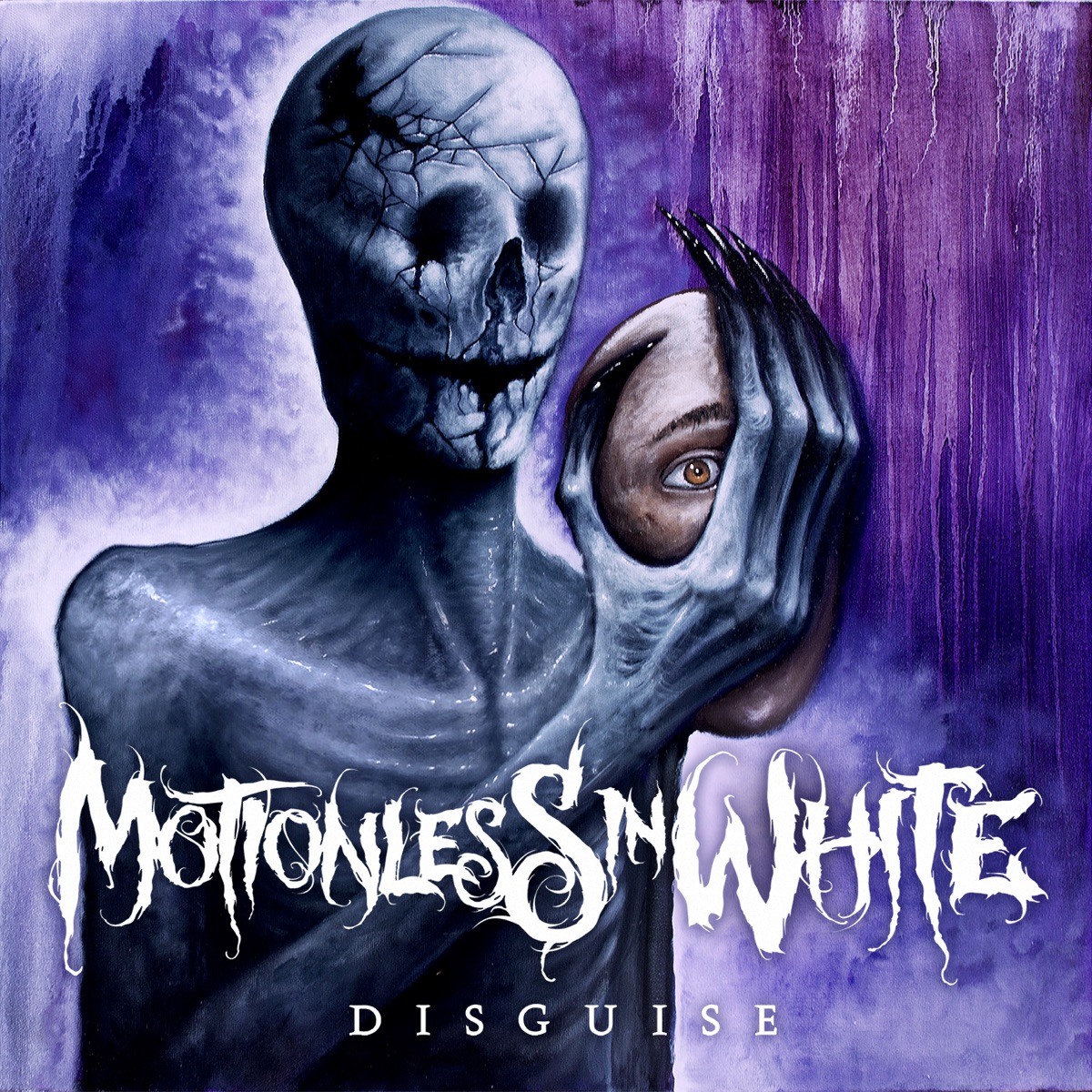 Disguise Motionless In White CD cover