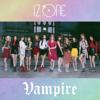 IZ*ONE - Vampire アートワーク