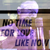 Michael Stipe & Big Red Machine - No Time For Love Like Now artwork