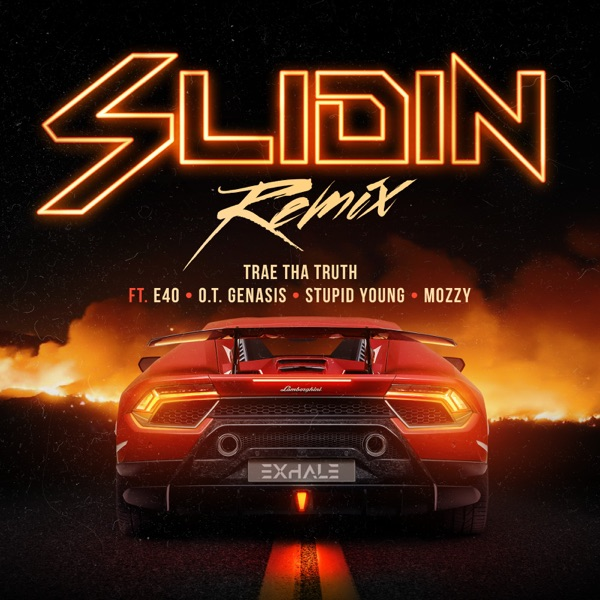 Slidin (Remix) [feat. E-40, O.T. Genasis, $tupid Young & Mozzy] - Single