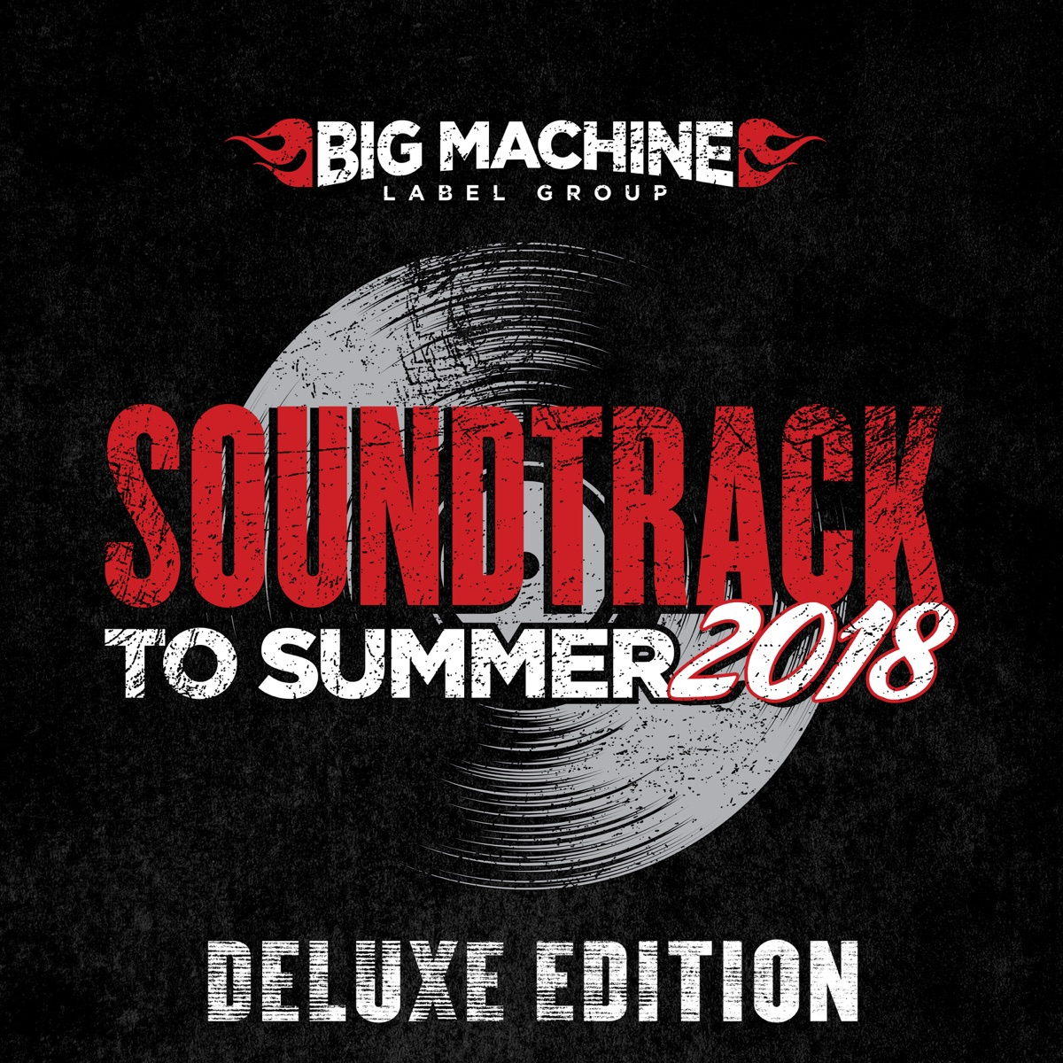 Soundtrack to Summer 2018 Deluxe Edition Various Artists CD cover