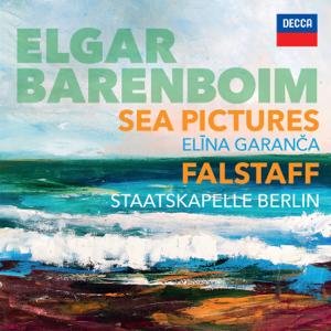 Daniel Barenboim, Elīna Garanča & Staatskapelle Berlin - Elgar: Sea Pictures. Falstaff