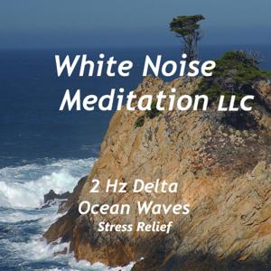 White Noise Meditation LLC - 2 Hz Delta Ocean Waves Stress Relief