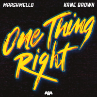 Album One Thing Right - Marshmello & Kane Brown