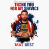 Mat Best, Ross Patterson & Nils Parker - Thank You for My Service (Unabridged)  artwork