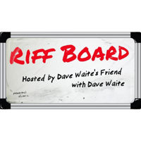 Podcast cover art for Riff Board