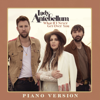 Lady Antebellum - What If I Never Get Over You (Piano Version)