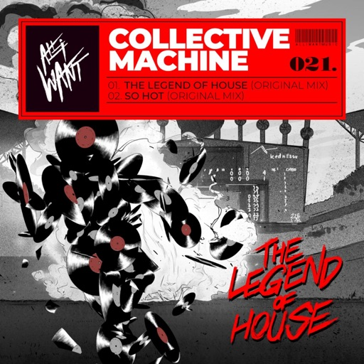 The Legend of House Ep by Collective Machine