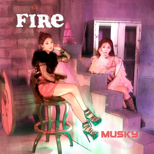 MUSKY – Fire – Single