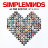 Simple Minds - Forty: The Best of Simple Minds 1979-2019 Grafik