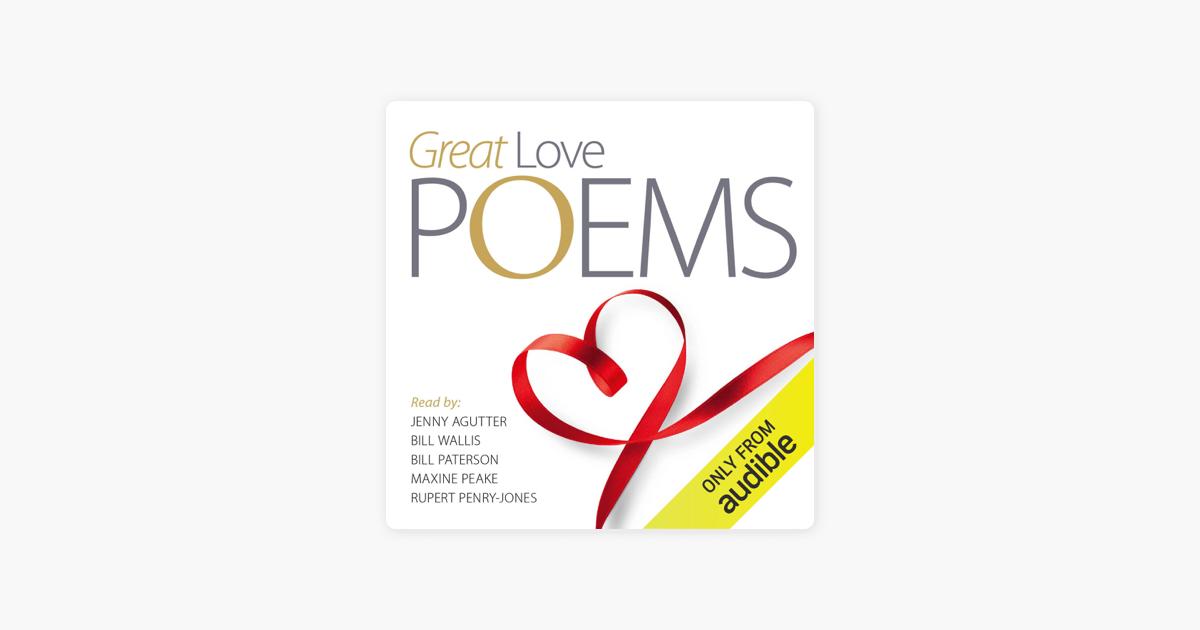 Great Love Poems - William Blake, Robert Burns & Edward Lear