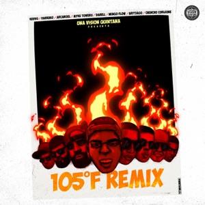 105 F Remix (feat. Arcángel, Ñengo Flow, Darell, Myke Towers & Brytiago) - Single