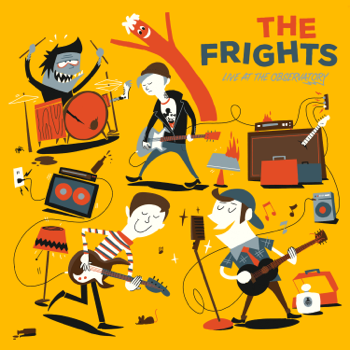 Live at the Observatory The Frights album songs, reviews, credits