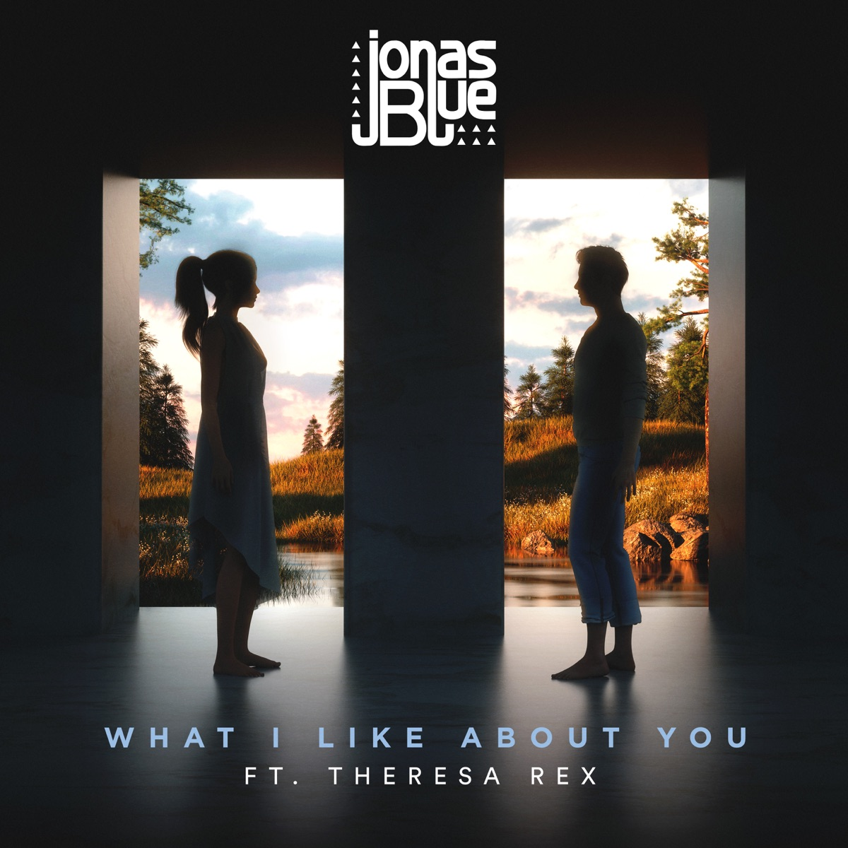 What I Like About You feat Theresa Rex - Single Jonas Blue CD cover