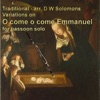 Variations on O come o come Emmanuel for bassoon solo Single