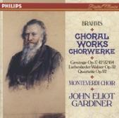 The Monteverdi Choir Gardiner - BRAHMS - 3 Gesänge, Op.42