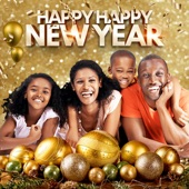 happy happy New Year artwork