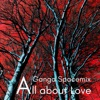 All About Love Ganga Spacemix Single
