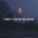 I Don't Wanna Be Alone - NBF Quetzal