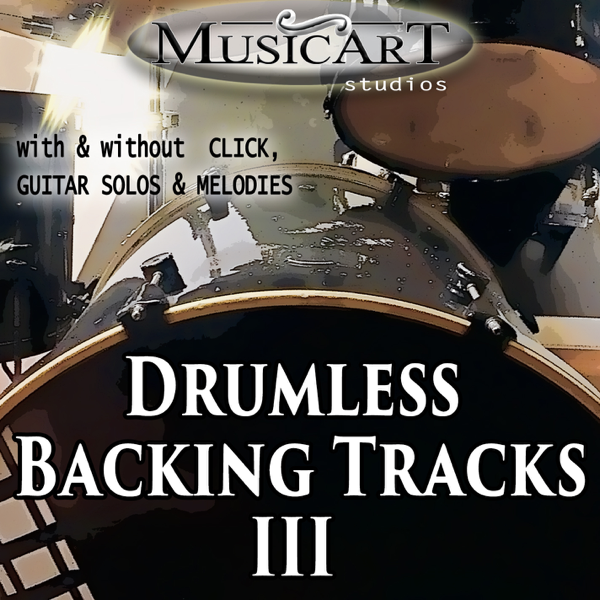 ‎Drumless Backing Tracks Vol 3 by MusicArt studio