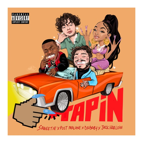 Tap In (feat. Post Malone, DaBaby & Jack Harlow) - Single