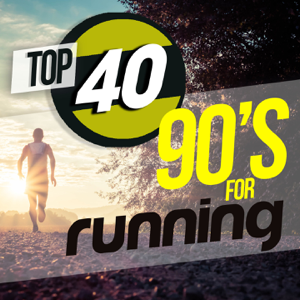 Varios Artistas - Top 40 90's For Running (40 Tracks for Fitness & Workout - 98/152 Bpm)