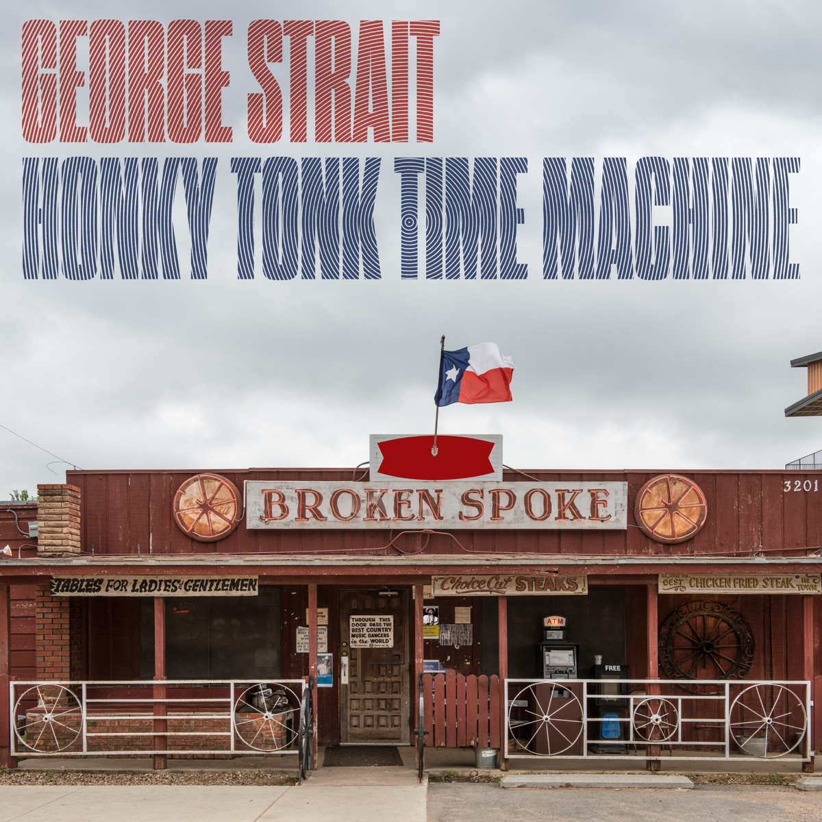 Honky Tonk Time Machine George Strait CD cover