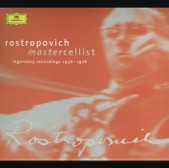 Mstislav Rostropovich - Schubert: Impromptu in G flat, D.899 No.3 - transcription for Cello and Piano by Heifetz/Rostropovich
