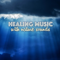 Healing Music with Nature Sounds - Relaxing Ocean Waves and Thunderstorm Lullaby