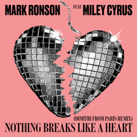 Mark Ronson - Nothing Breaks Like a Heart (feat. Miley Cyrus) [Dimitri from Paris Remix] artwork