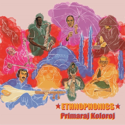 Album artwork of Ethnophonics – Primaraj Koloroj