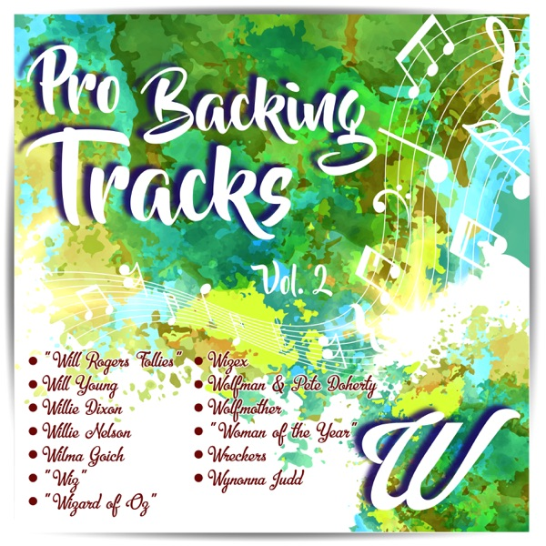 Pro Backing Tracks W, Vol.2