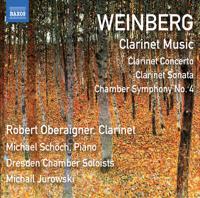Robert Oberaigner - Weinberg: Clarinet & Chamber Works artwork