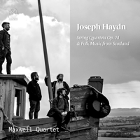 Maxwell Quartet - Haydn: String Quartets Op. 74 - Folk Music from Scotland artwork