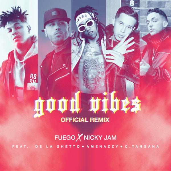 Good Vibes (Official Remix) [feat. De La Ghetto, Amenazzy & C. Tangana] - Single