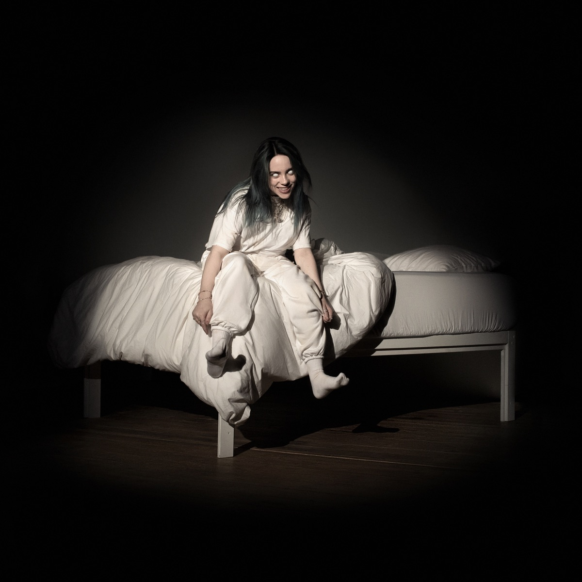 WHEN WE ALL FALL ASLEEP WHERE DO WE GO Billie Eilish CD cover