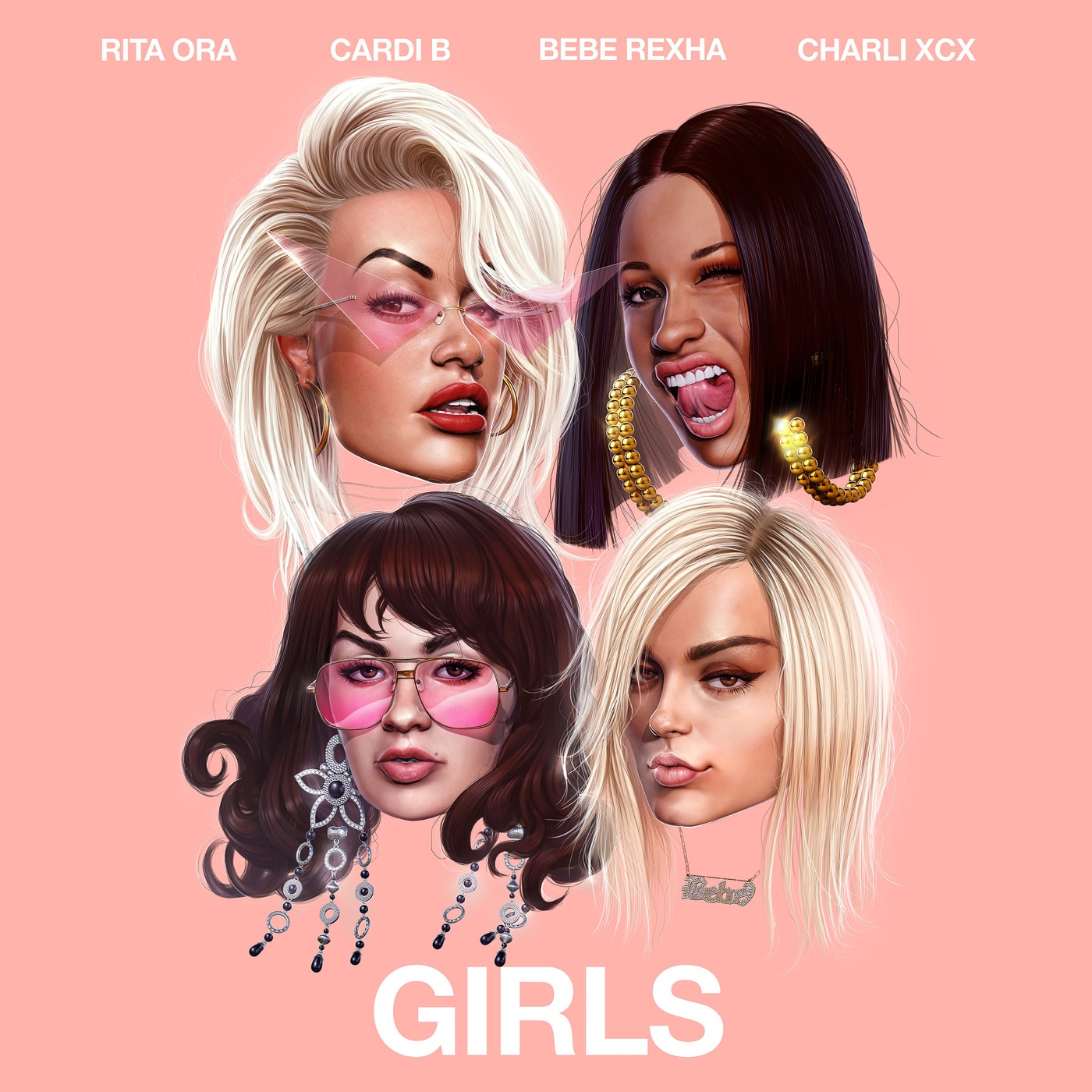 Download Rita Ora Girls feat Cardi B Bebe Rexha & Charli XCX
