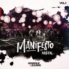Manifesto Musical (Ao Vivo), Vol. 1 - EP